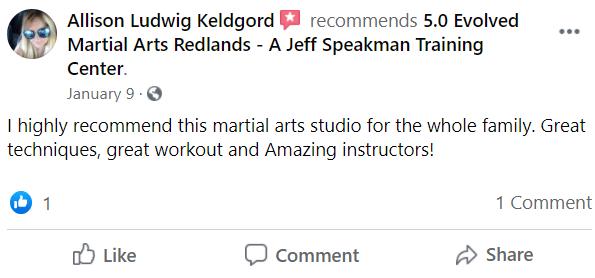 Adult1, 5.0 Evolved Martial Arts Redlands