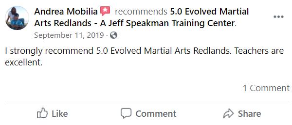 Adult2, 5.0 Evolved Martial Arts Redlands